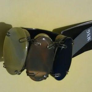 MNG by Mango Gems Brass Cuff Bracelet